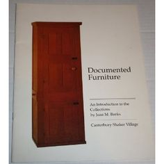 Documented Furniture - An Introduction to the Collections (Paperback)  http://mobilephone.10h.us/amazon.php?p=[PRODUCT_ID  B003Y62RTY