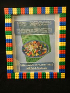 Lego Picture Frames: