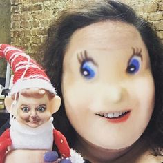 #faceswap with an elf #elf #faceswapfun #insta #humor #lol #lolz #rofl #instagood #tampa #attheoffice #igers #love by kimrandall