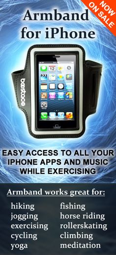 Iphone Armband - Improved Comfortable Waterproof For Running Hiking - always make sure I have one of these