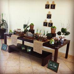Mesa doces - boteco