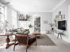 Home Interior Salas .Home Interior Salas Living Room Scandinavian, Scandinavian Home Interiors, Scandinavian Style, Scandinavian Apartment, Scandi Style, Living Room Furniture, Living Room Decor, Living Spaces, Wooden Furniture