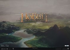 Journey through Middle-earth in our newly updated Google Chrome experiment for #TheHobbit