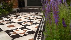 Whether your taste is for ultra modern geometrics or classic Victorian design, our patterned outdoor tiles allow you to create a creative haven outside your home to match your personality and home's interior. Frost resistant, these porcelain tiles can be laid like regular tiles on a solid substrate and can follow through into your interior. Porch Tile, Patio Tiles, Outdoor Tiles, Concrete Patio, Balcony Tiles, Outside Flooring, Porch Flooring, Outdoor Flooring, Outside Tiles