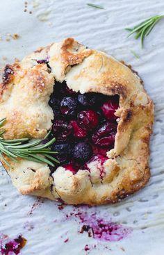Holiday dessert: Cranberry Blueberry Mini Galettes