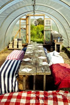 Poly tunnel magic, I know a certain neighbourhood house that would love this...