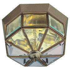 2 Light Flush Light