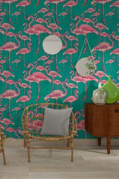 papier peint tropical notre s lection pour une d co. Black Bedroom Furniture Sets. Home Design Ideas