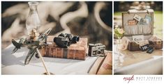 Lindsay & Rays Aviation Themed Wedding  Edison & Ford Winter Estates designed by @Courtney Shaw: Fabulously Chic Weddings