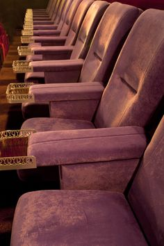 Our chairs in the Regal Cinema, Melton Mowbray - a great place to relax!