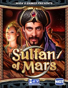 Sultan of Mars - Slot Game by H5G