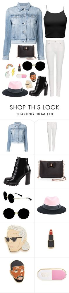 """""""just pin it."""" by downeastgirl88 ❤ liked on Polyvore featuring 3x1, Polo Ralph Lauren, Jeffrey Campbell, Ted Baker, Miu Miu, Maison Michel, Georgia Perry, ban.do and Red Camel"""