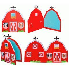 Silhueta Design Store - Ver design # 57003: cartão bonito celeiro