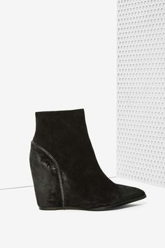 Sol Sana Noah Suede Wedge Boot - Shoes