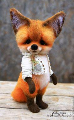 Игрушки животные, ручной работы. Ярмарка Мастеров - ручная работа. Купить Лисенок Поль. Handmade. Рыжий, лиса игрушка