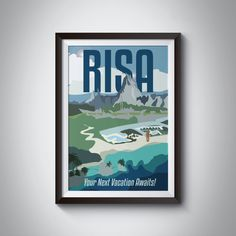Star Trek Travel Poster: Risa | Instant Download