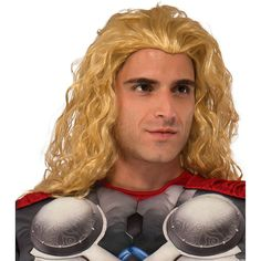Adult Avengers: Age of Ultron Thor Costume Wig, Men's, Yellow