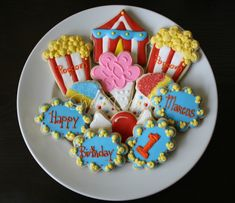 circus cookie designs images - Yahoo Image Search Results