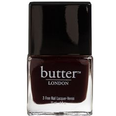 butter LONDON Nail Lacquer La Moss One Size (260 ARS) ❤ liked on Polyvore featuring beauty products, nail care, nail polish, nails, makeup, beauty, fillers, butter london nail lacquer, butter london and butter london nail polish