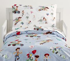 Toy Story Bedding, Toy Story Nursery, Toy Story Bedroom, Toddler Duvet, Toddler Pillowcase, Toddler Bed Sheets, Best Sheet Sets, Dibujos Toy Story, Toddler Sheet Set