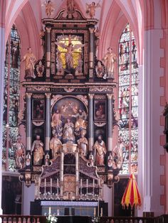 """Michael's Cathedral, Mondsee, Austria - the wedding scene from """"The Sound of Music"""" was filmed here Catholic Churches, Wedding Scene, Julie Andrews, My Heritage, Salzburg, Sound Of Music, Travel List, Cathedrals, Tower Bridge"""
