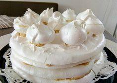 Meringue Pavlova, Macarons, Mousse, Panna Cotta, Deserts, Cake, Recipes, Food, Drink