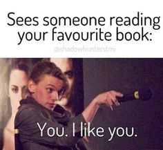 So true :) we could do without that movie poster in the background tho make it a book cover and I'll be happy :) xxx