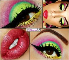 Tropical Eyes and Bubblegum Lips