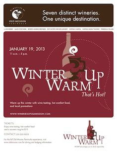 Check out the Old Mission Wineries this weekend! #TCMI