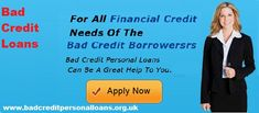 with the help of bad credit loans we can resolve our all type of cash needs wit