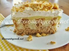 The Country Cook: Pudding Poke Carrot Cake