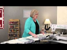 Vicki Hoth, Handi Quilter Education Coordinator, demonstrates how to bring up the bobbin thread, tie on/off and quilt using the HQ Simply Sixteen. Longarm Quilting, Free Motion Quilting, Machine Quilting, Handi Quilter, Quilting Frames, Juki, Get Started, Quilts, Sweet Sixteen