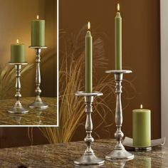 Taper and Pillar Candle Holder