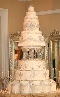 1000 Ideas About Big Wedding Cakes On Pinterest