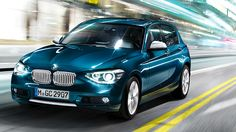 BMW 1 Series Sports Hatch design.