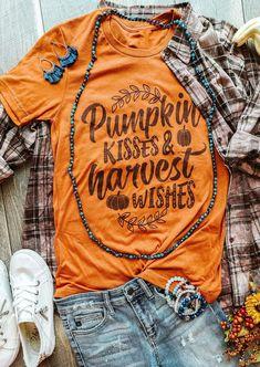 Fall Shirts, Tee Shirts, Vinyl Shirts, Diy Shirt, Halloween Shirt, Halloween Outfits, Autumn Theme, 1 Piece, Winter Outfits