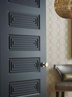 Door Design Interior, Modern Door Design, Modern Interior Doors, Interior And Exterior, Bedroom Doors, Bedroom Door Design, Architecture Restaurant, Contemporary Doors, Art Deco