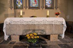 Maitre-autel -Eglise Saint-Martin (église fortifiée.Wimy (Aisne - Thiérache) - PIcardie