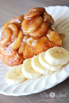 Banana Fosters Pull-Apart Monkey Bread
