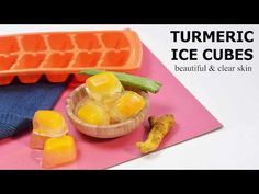 TURMERIC ICE CUBES FOR BEAUTIFUL AND CLEAR SKIN - YouTube