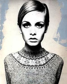 Twiggy - If I'm forced to dress up this halloween I think I'll be twiggy. I kind of need to cut my hair off again, though.