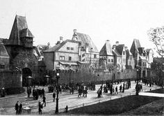 Old Vienna at the Midway Plaisance of the 1893 World's Columbian Exposition, Chicago
