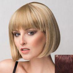 Bob Wigs | Cheap Short Bob Style Wigs For Women Casual Style Online Sale | DressLily.com