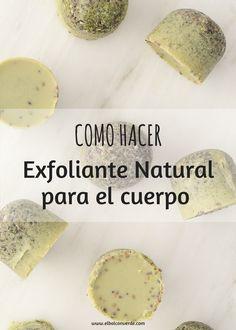 Con este receta te enseño como hacer un Exfoliante Natural para el Cuerpo. Utiliza ingredientes naturales para hacer esta receta de Exfoliante Corporal. Te enseño el paso a paso de la receta.
