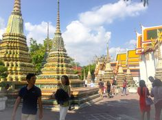 One day in Bangkok, Thailand