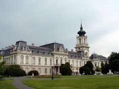 Festetics Palace (pr. fesh-teh-titsh), Keszthely #Hungary #palace #royal