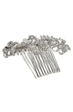 Nina 'Caleigh' Swarovski Crystal Comb | Nordstrom