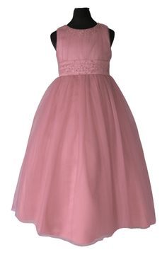 a7c63a86058 ΠΡΟΣΦΟΡΑ ΓΙΑ 2-3 ΧΡΟΝΩΝ, Πανέμορφο Παιδικό Φόρεμα Μακρύ για Παρανυφάκι ή  Πάρτυ σε Ροζ