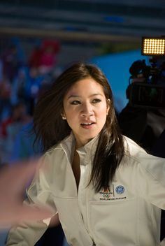 Michelle Kwan, one of the greatest figure skaters of all time (and also one of the classiest)