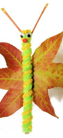 Fall Leaf Butterfly Craft For Kids